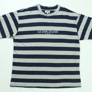 VTG Guess Jeans Stripe Shirt Made in USA